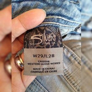 Silver Jeans Jeans - Silver Jeans Co. Sam Boyfriend Fit 29x28